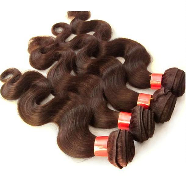 Hair Accessory Virgin Hair Weft Extension Brazilian Hair Weft