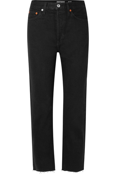 RE/DONE - Originals High-Rise Stove Pipe straight-leg jeans