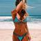 Hot sale multicolors neo crochet bikini suit
