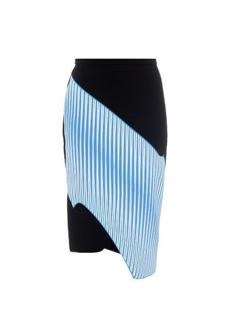 Dion Lee skirt pencil skirt black