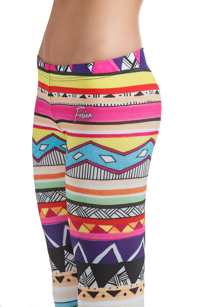 colorful yoga pants - Pi Pants