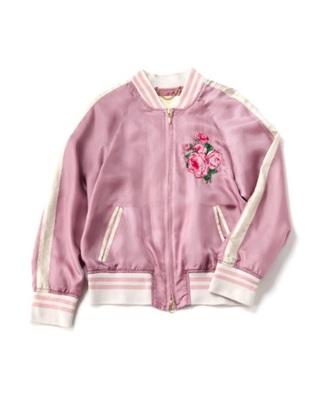 jacket varsity jacket bomber jacket pastel goth pastel pink rose