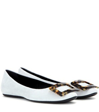 suede grey shoes