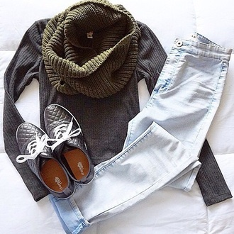 sweater grey sweater style fashion casual trendy