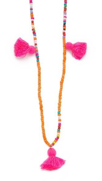 tassel necklace jewels