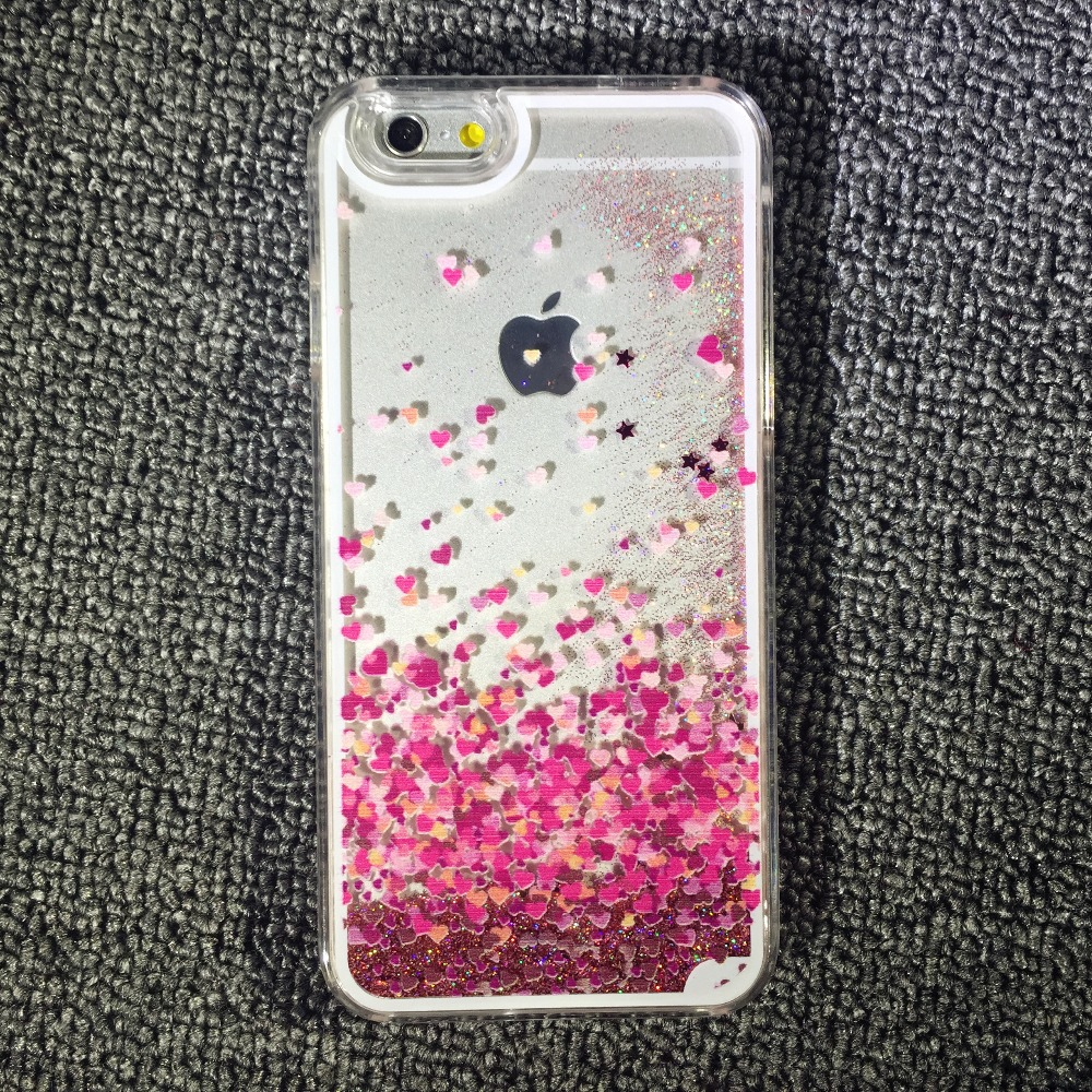 low priced ccd3e 57a66 phone cover case Picture - More Detailed Picture about Dynamic Liquid  Glitter Quicksand Luxury Sexy Lip Fancy Love Heart Crystal Hard Phone Case  Back ...