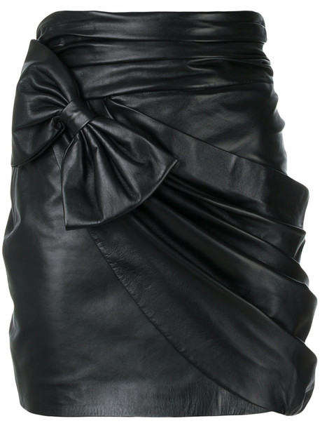 Redemption skirt bow women black