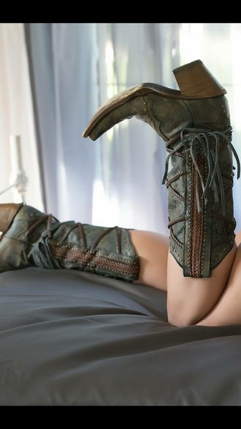 shoes boots cowgirl boots sexy