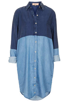Tall MOTO Contrast Shirt Dress - New In This Week  - New In  - Topshop