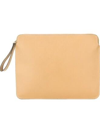 women classic clutch nude bag