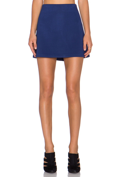 Fifteen Twenty skirt blue