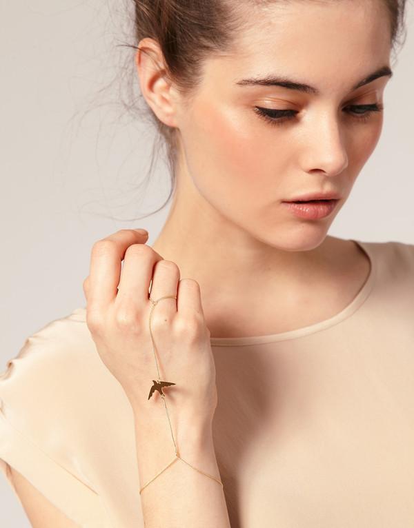 ring bracelets chain jewels