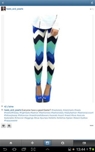aztec summer blue fashion white print pants leggings bleu jeans high heels turquoise legs bottombs printing aztec prit blue aztec tights triangle soft light navy sport