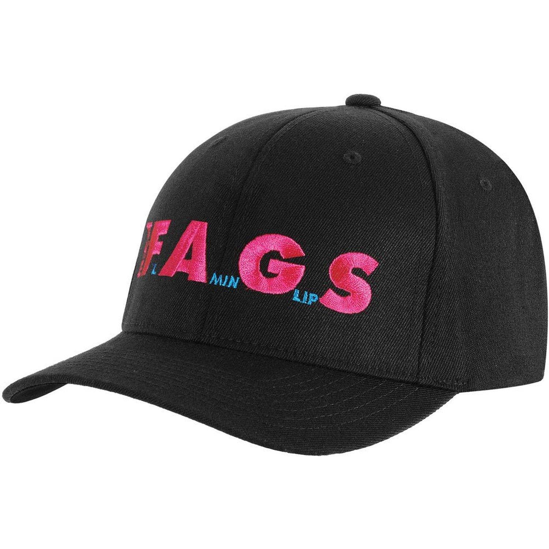 Amazon.com: FLAMING LIPS - FAGS - Baseball Cap / Hat OSFA: Clothing, Shoes & Jewelry
