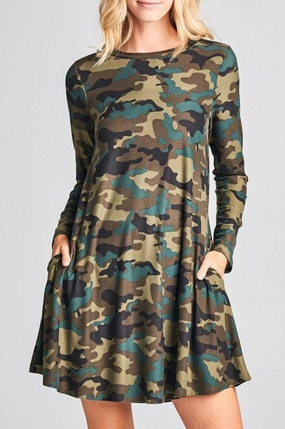 dress camouflage