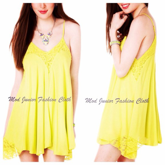 mini dress clothes neon neon dress summer love summer outfits v-neck v-back
