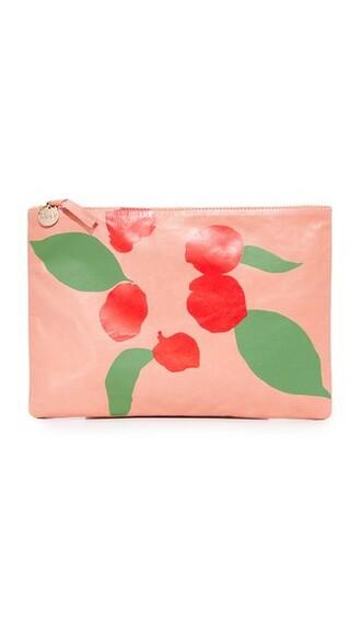 clutch salmon bag