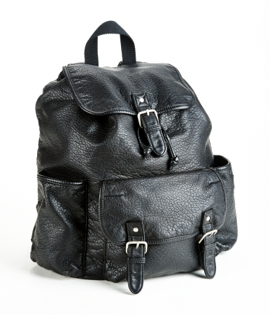 Leather Backpack -