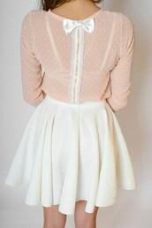 dress,pastel,pink,skater dress,mini dress