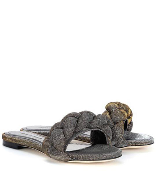 Marco De Vincenzo metallic shoes