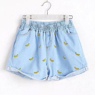 shorts denim shorts loose fitting high waisted shorts summer shorts summer pants