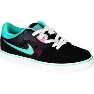 shoes nike blue multicolor sneakers