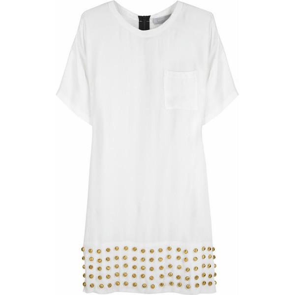 Alexander Wang|Studded t-shirt dress|NET-A-PORTER.COM