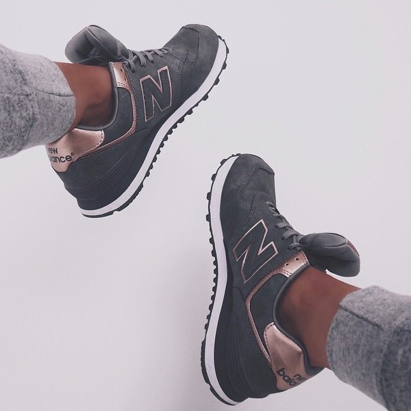 foot locker new balance rose