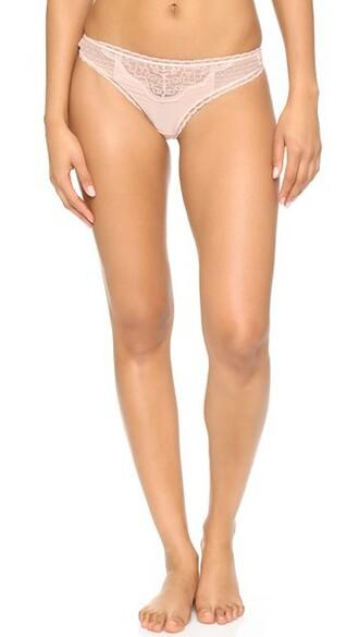 thong ballet pink underwear