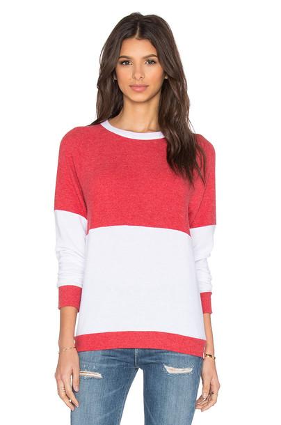 pullover vintage red