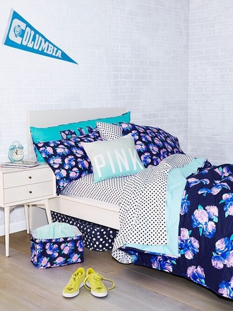 college bedding floral home accessory roses pillow lifestyle