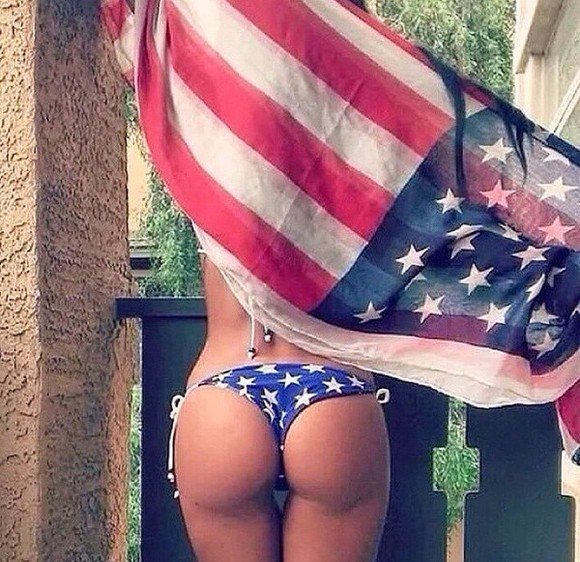 swimwear blue swimwear bikini bottoms american flag white stars blue and white american flag bikini
