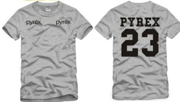 PYREX 23 WOMENS MENS SHORT-SLEEVED T-SHIRT for sale