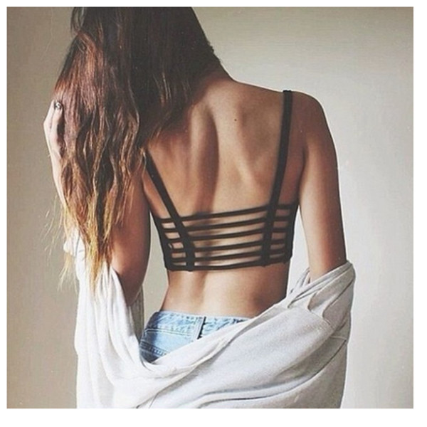 top wow backless backless top crop tops
