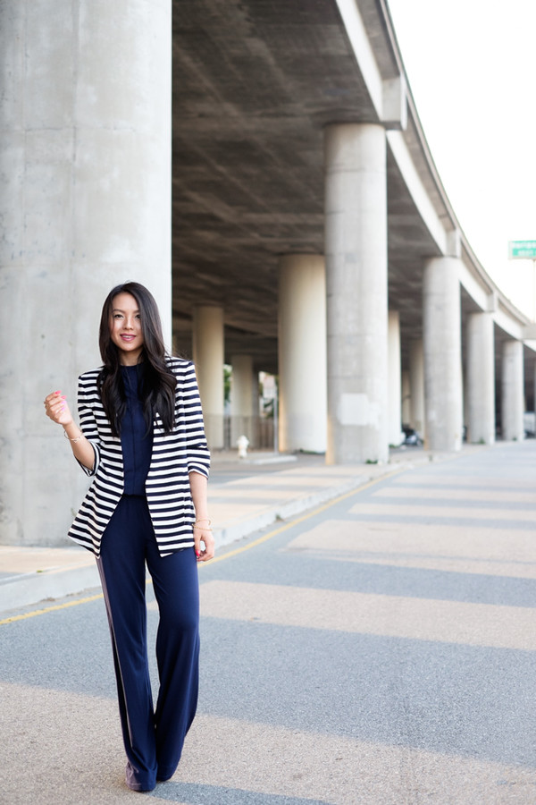 the fancy pants report jacket jumpsuit jewels