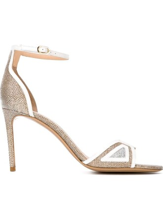 ankle strap sandals white shoes