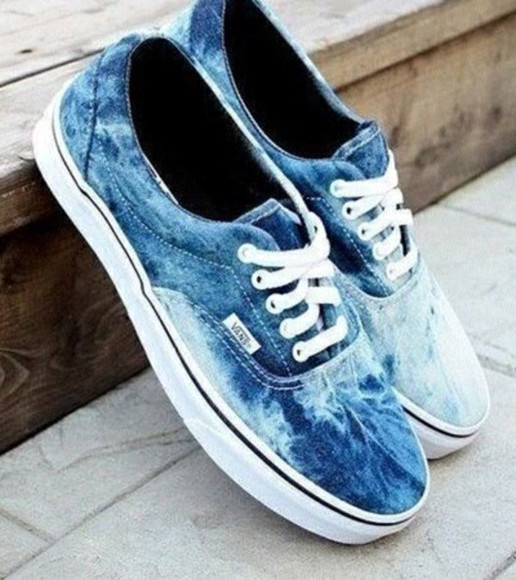 hipster shoes lovely acid wash cool vans beauty fashion shopping indie hippie