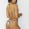 Sienna black lotus bikini bottom