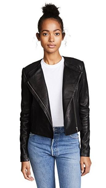 Veda jacket classic black