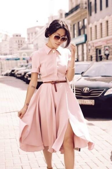 dress peach dress style classy classy dress nude pinky slit slit dress