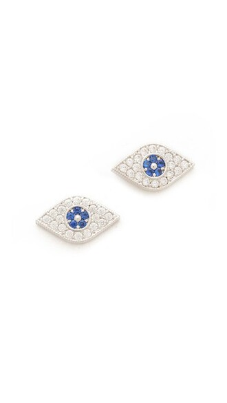 earrings stud earrings blue jewels