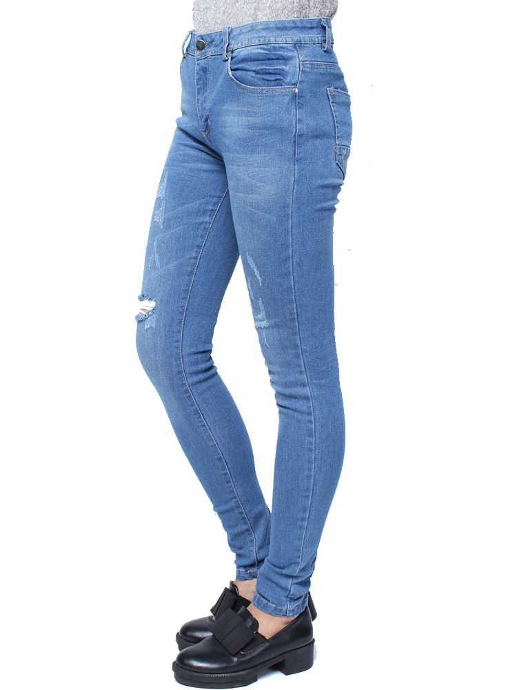 Dipity Torn Skinny Jeans – Outfit Made