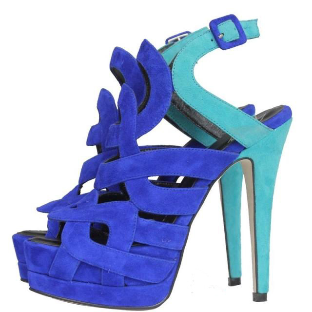 gladiator sandals women2014 high heel sandals platform pumps summer genuine leather sheos woman suede free shipping gz sandals-in Sandals from Shoes on Aliexpress.com