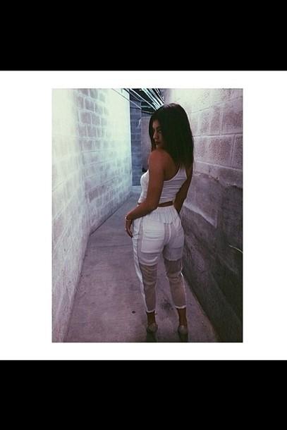 pants sheer pants