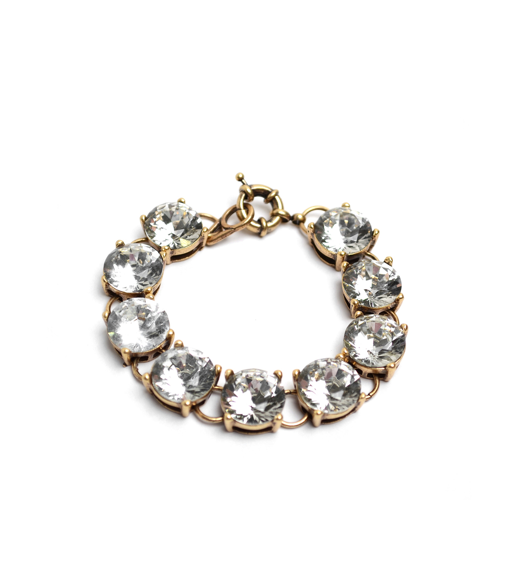 Antique Bling Crystal Bracelet
