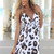 Multi Day Dress - Cheetah Print Dress with Halter | UsTrendy