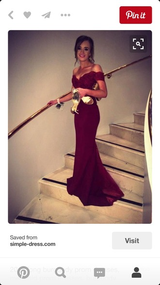 dress red dress pinterest prom dress goen gown