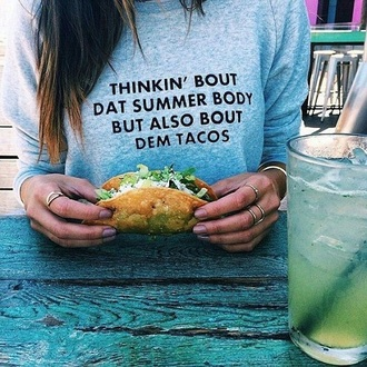 sweater tacos food teenagers funny tumblr hipster urban cute