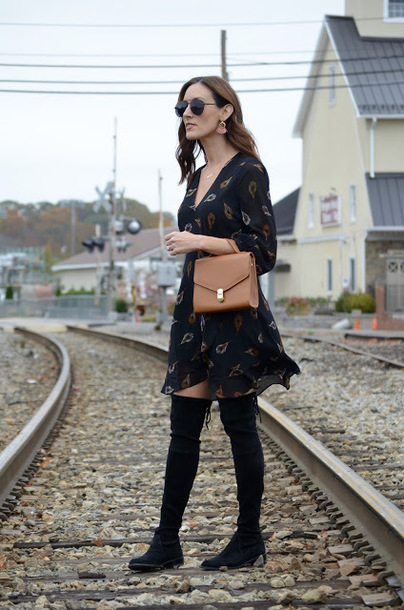classroom couture blogger dress cardigan jewels
