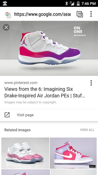 shoes jordans basketball shoes sneakers high top sneakers purple white